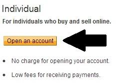 Select individual account