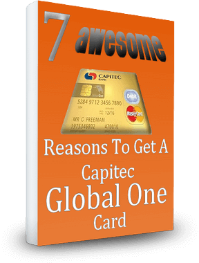 Download your free copy of 7 Awesome Reasons to get a Capitec Global One Card